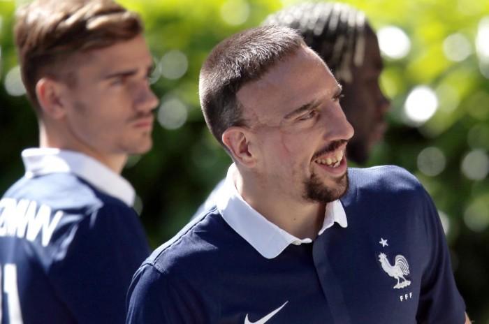"""Ribery: """"Griezmann non è un top player"""""""