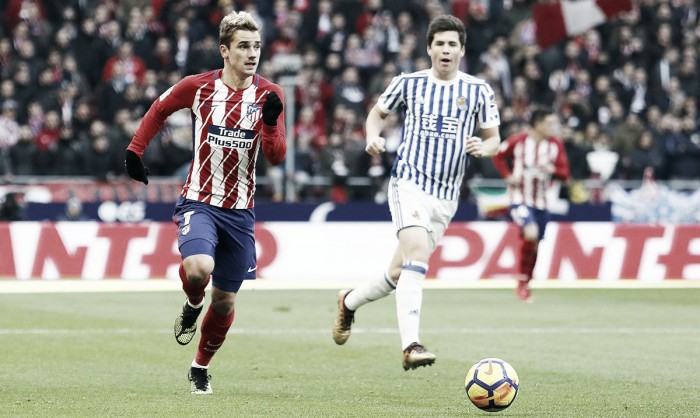 Liga - Atletico ancora vincente. Rimontata la Real Sociedad, finisce 2 a 1