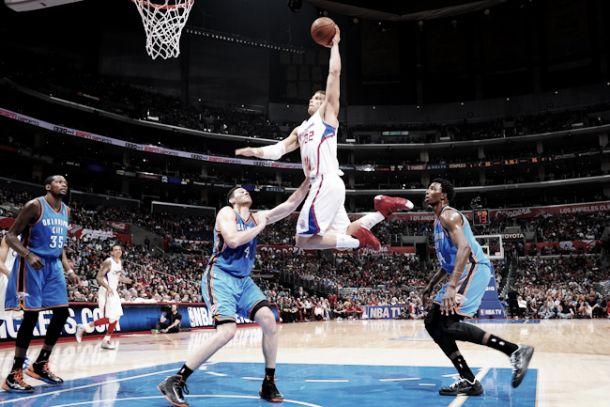 Los Thunder buscan asegurar la segunda plaza ante los Clippers
