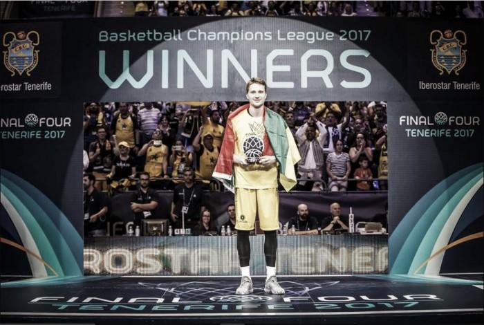 Marius Grigonis, el joven MVP que aspira a todo