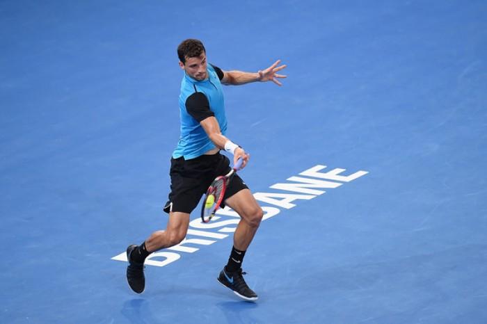 ATP Brisbane: Dimitrov batte Simon, avanti Kudla in rimonta