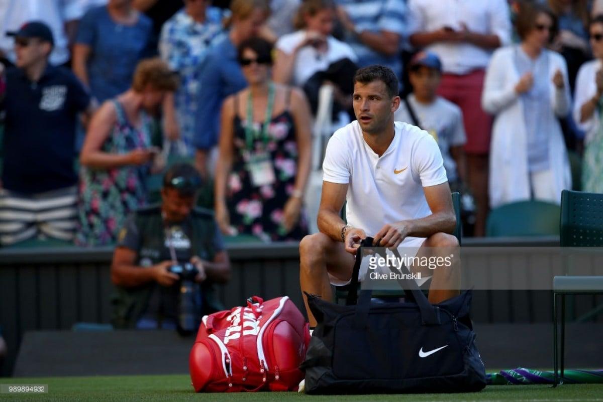 Wimbledon 2018: Grigor Dimitrov not worried despite first round exit