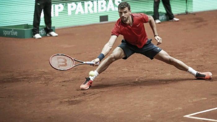 ATP Istanbul: Grigor Dimitrov moves past Ivo Karlovic in two tiebreak sets