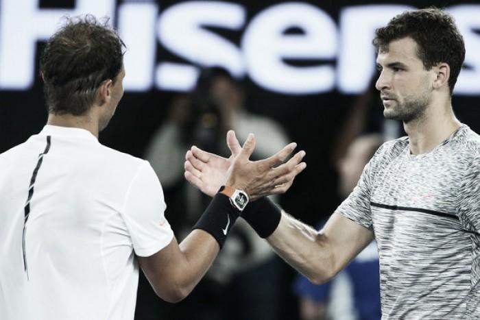 Rafael Nadal beats battling Grigor Dimitrov to reach China Open final