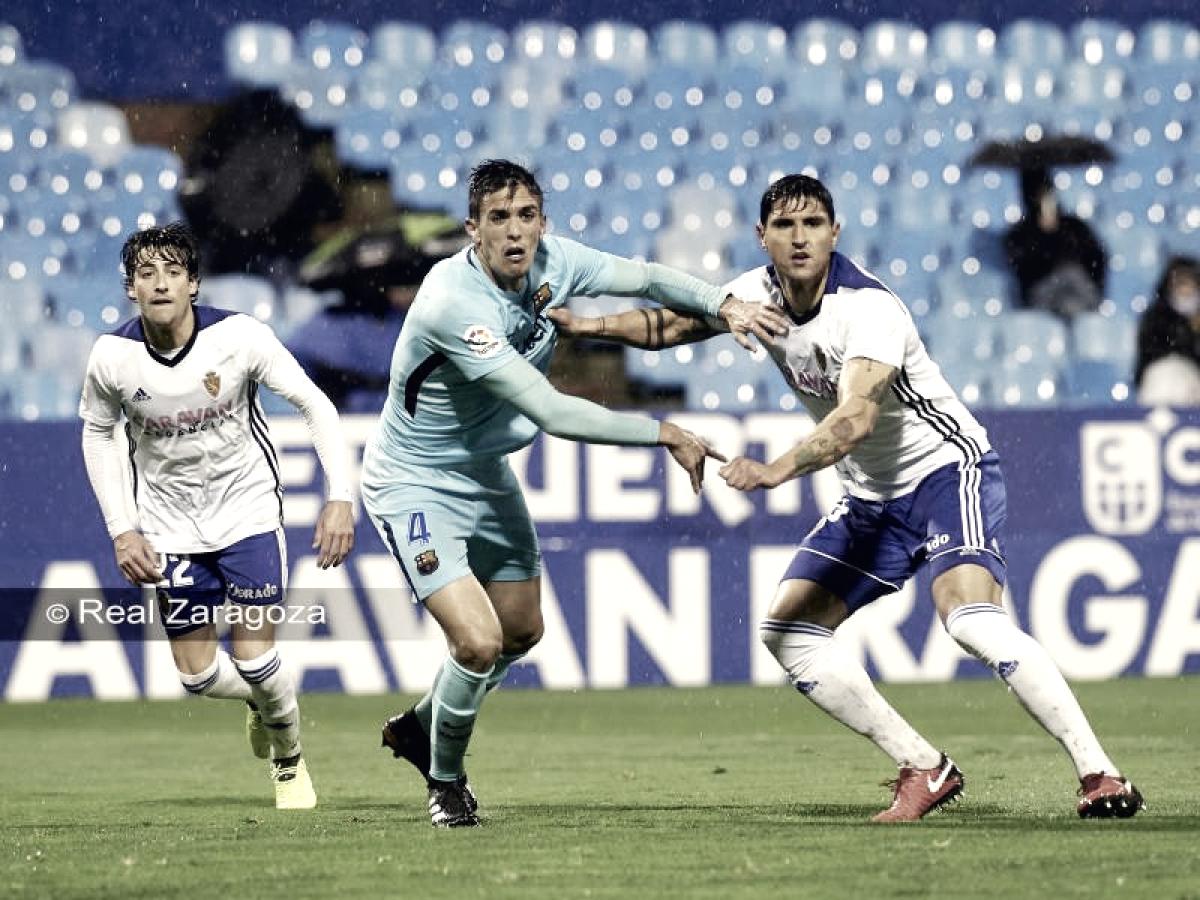 Los antecedentes del Barça B - Real Zaragoza