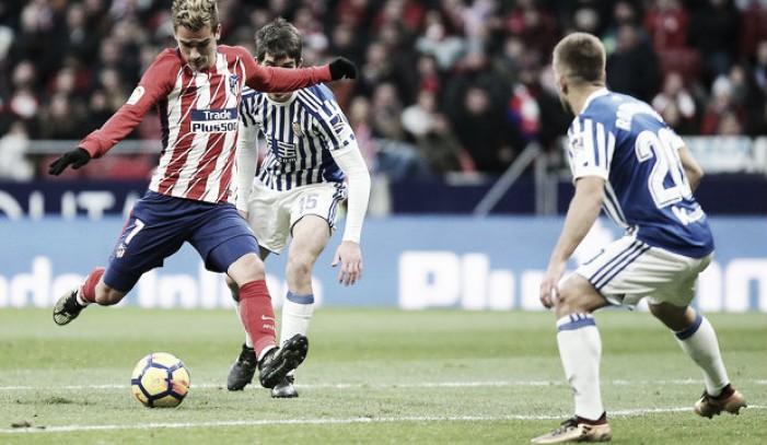 """Griezmann: """"Con el empuje de la afición, conseguimos la victoria"""""""
