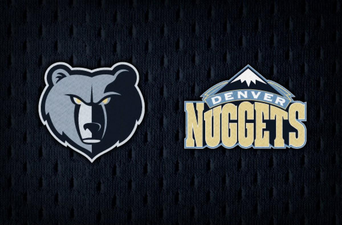 Cambios de color en logos y equipaciones de Grizzlies y Nuggets