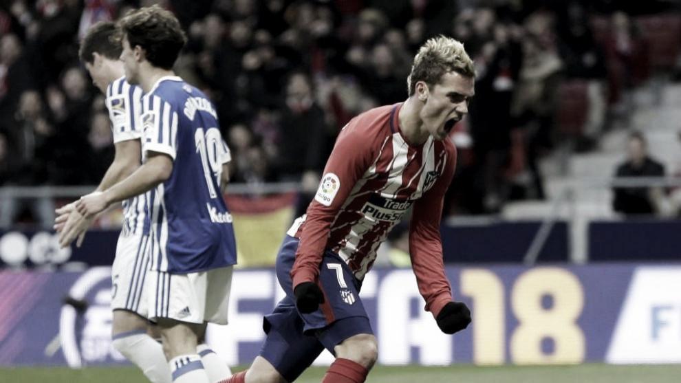 Previa Real Sociedad - Atlético de Madrid: la competitividad por la Liga en juego