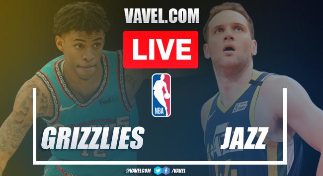 Resumen y Anotaciones del Grizzlies 113-120 Jazz en la NBA 2021