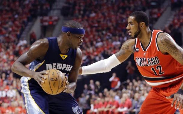 Memphis Grizzlies - Portland Trail Blazers Score 2015 NBA Playoffs Game 4 (92-99)
