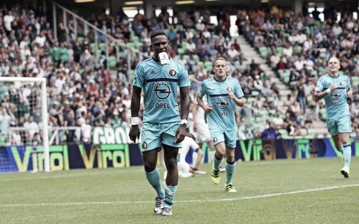 Elia marca seu primeiro hat-trick na Eredivisie e Feyenoord estreia com goleada diante do Groningen