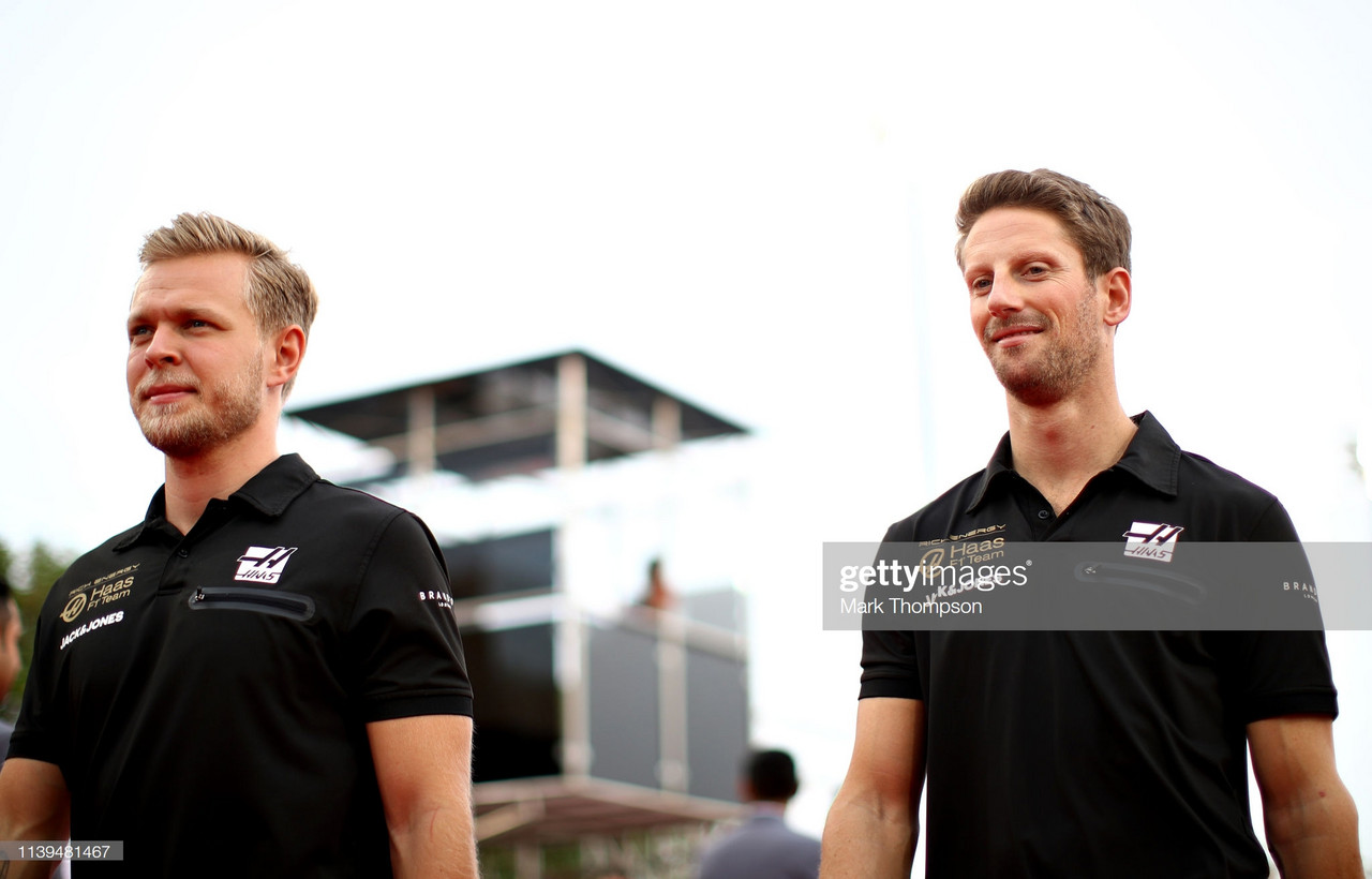 Grosjean to partner Magnussen at Haas for 2020 season
