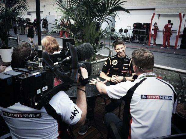 """Romain Grosjean: """"Tengo contrato, pero puedo irme si quiero"""""""