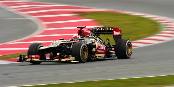 Côté français : Grosjean sur le podium
