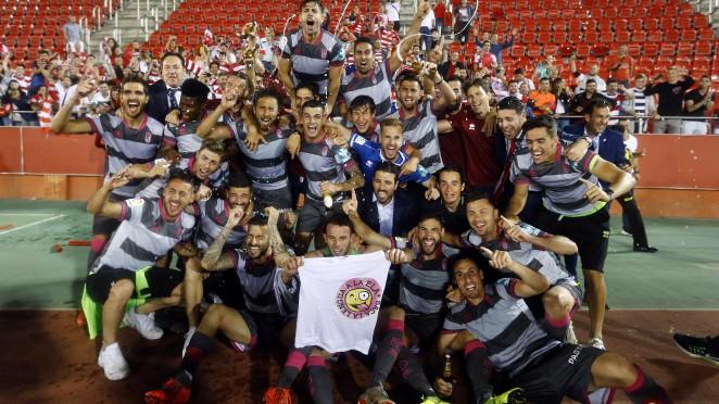 La regularidad y la unión marcan el ascenso del Granada CF