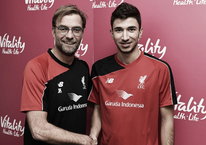 Marko Grujic granted work permit to begin Liverpool career