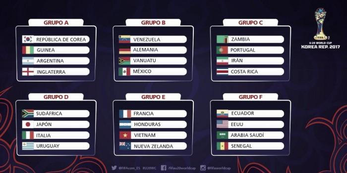 Venezuela ya conoce a sus rivales en el Mundial Sub-20