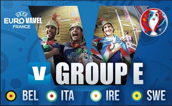 RX ao Grupo E : o poderio italiano, a juventude belga e a desilusão sueca