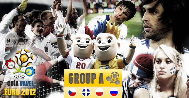 Grupo A de la Eurocopa: República Checa, Rusia, Polonia y Grecia