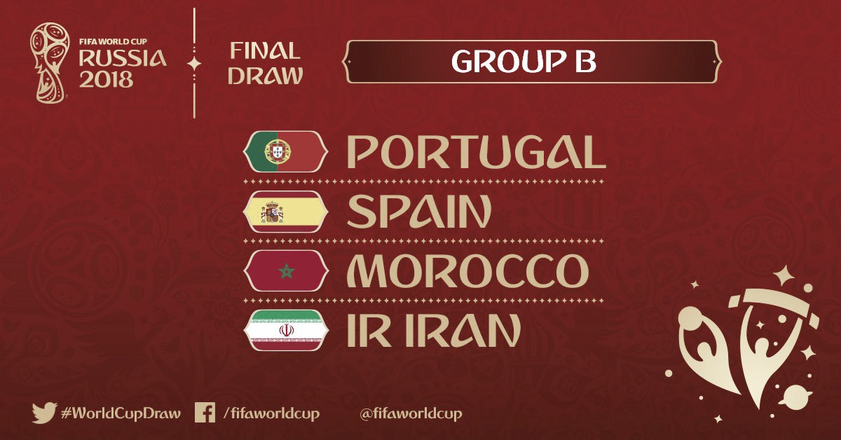 Confira lista dos jogadores convocados para disputa da Copa do Mundo - Grupo B