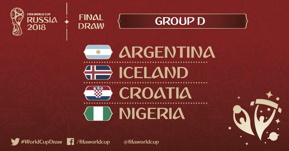 Confira lista dos jogadores convocados para disputa da Copa do Mundo - Grupo D