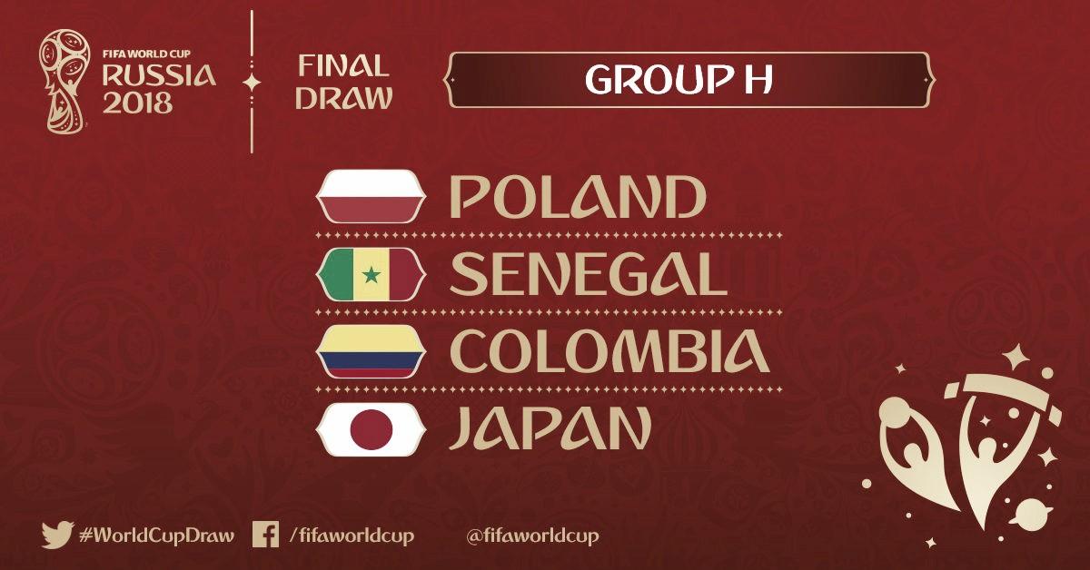 Confira lista dos jogadores convocados para disputa da Copa do Mundo - Grupo H