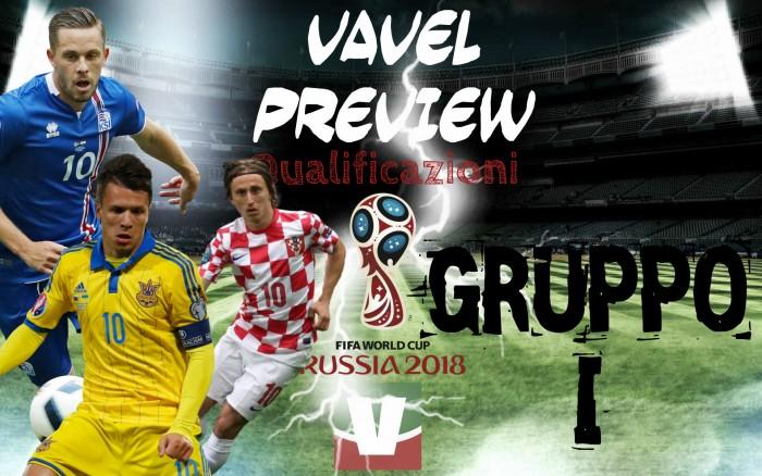 Qualificazioni Russia 2018, gruppo I - Islanda padrona, match di fuoco tra Croazia e Ucraina