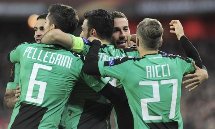 Europa League: finale amaro per il Sassuolo, il Genk vince 0-2 grazie ad Heynen e Trossard