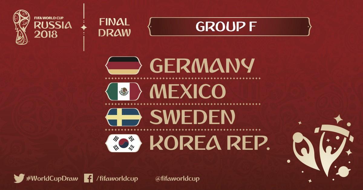 Confira lista dos jogadores convocados para disputa da Copa do Mundo - Grupo F