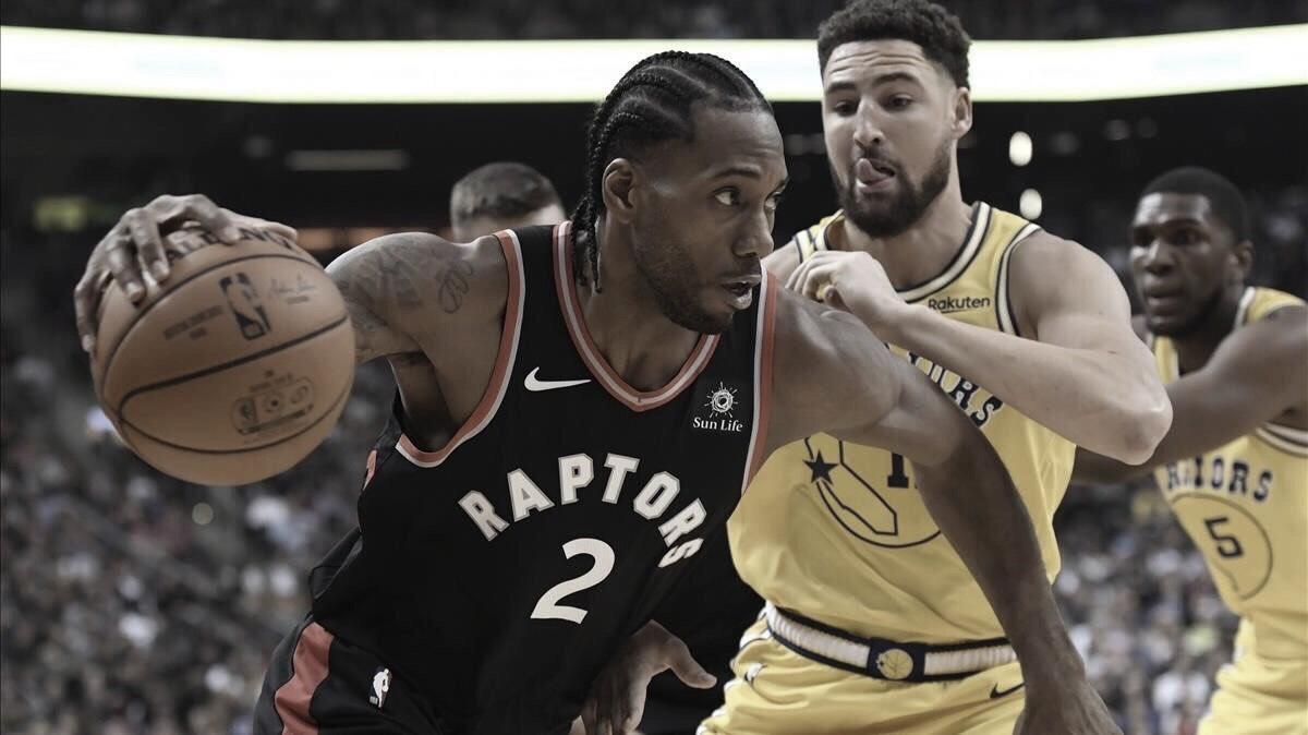 Warriors y Raptors se enfrentarán en las Finales de la NBA