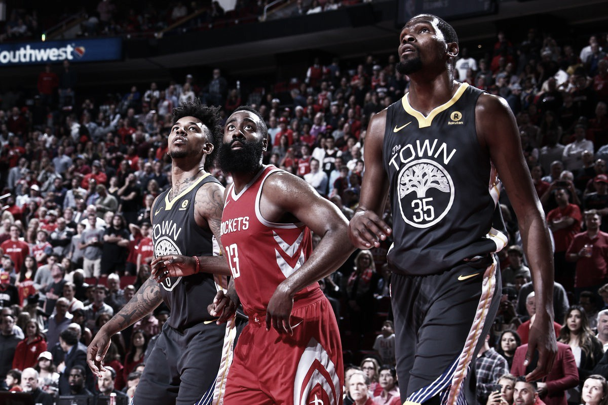 NBA playoffs, inizia la resa dei conti tra Houston e Warriors