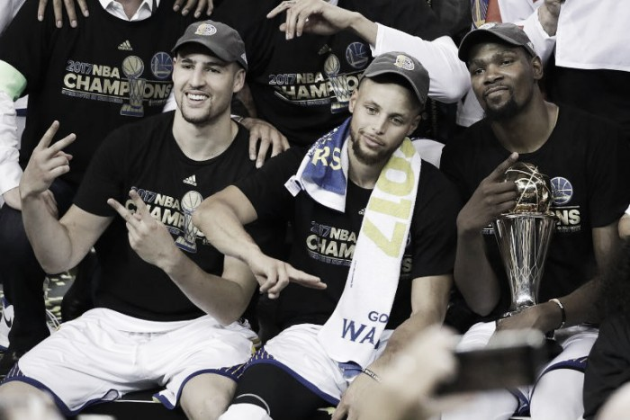 NBA Finals, Golden State of mind