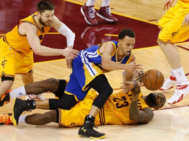 Score Golden State Warriors - Cleveland Cavaliers of 2015 NBA Finals in Game 4 (103-82) | VAVEL.com