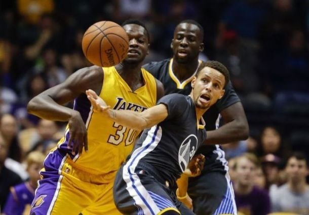 Los Angeles Lakers Take Down Defending Champs Golden State Warriors In Shortened Game