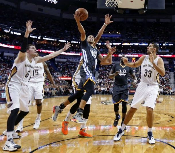 Stephen Curry's 53 Points Pushes Golden State Warriors Past New Orleans Pelicans