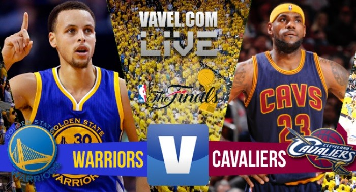 Risultato finale Golden State Warriors - Cleveland Cavaliers in gara 5 NBA Finals 2016 (96-112)