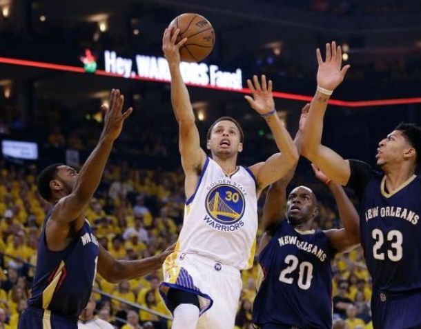 Golden State Warriors Take Game 1 Over New Orleans Pelicans