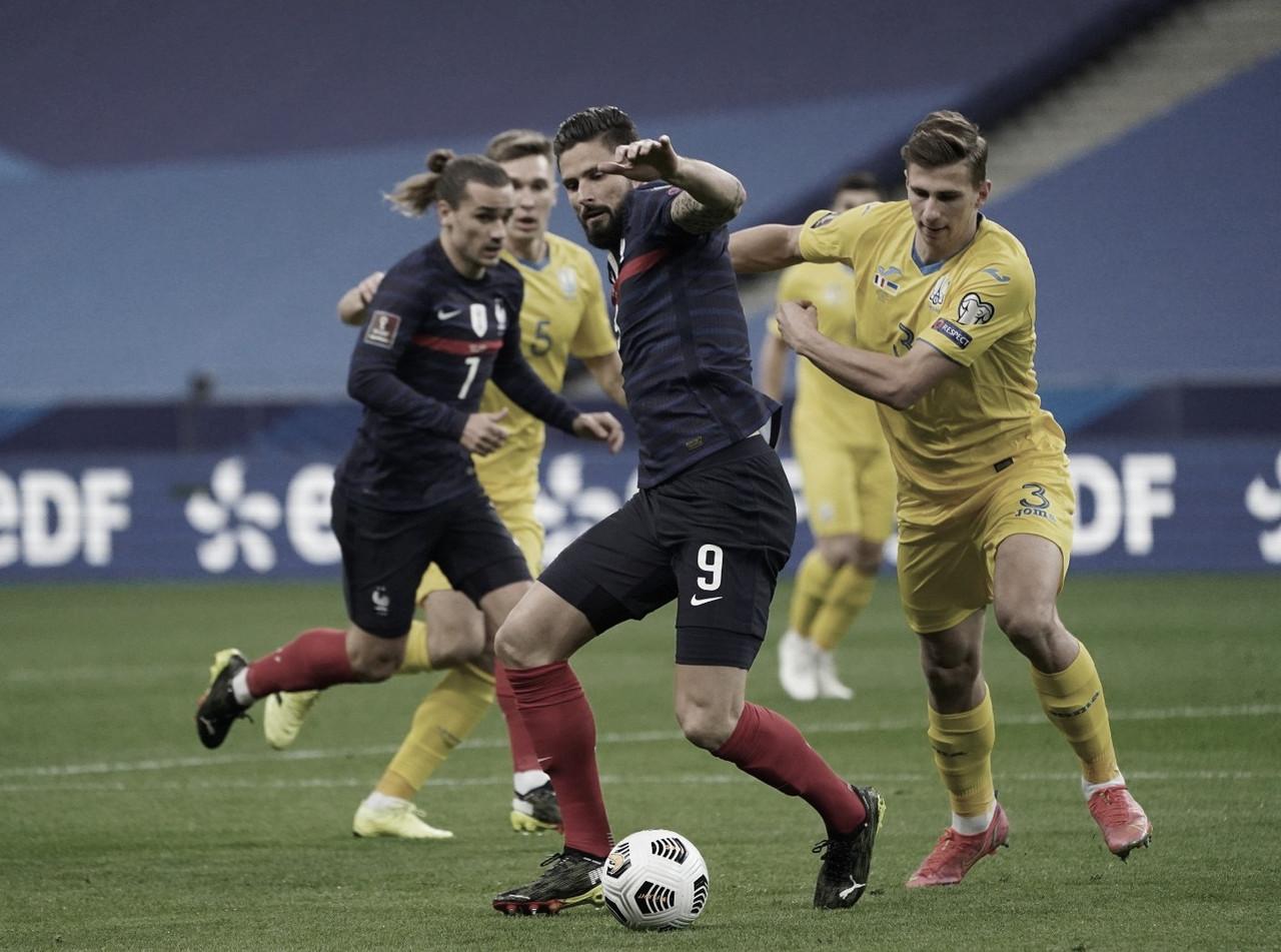 Francia y Ucrania igualan en el comienzo de la Eliminatoria