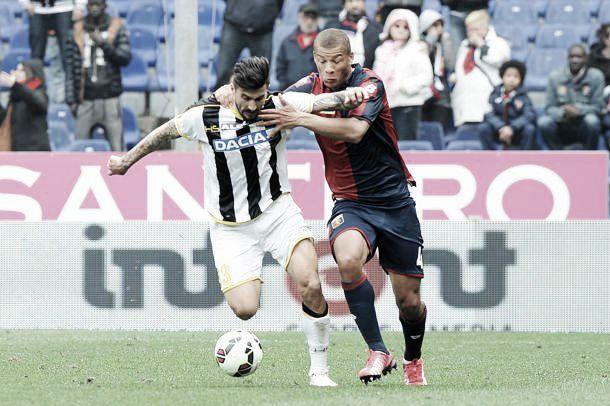 Genoa - Udinese, pari e patta