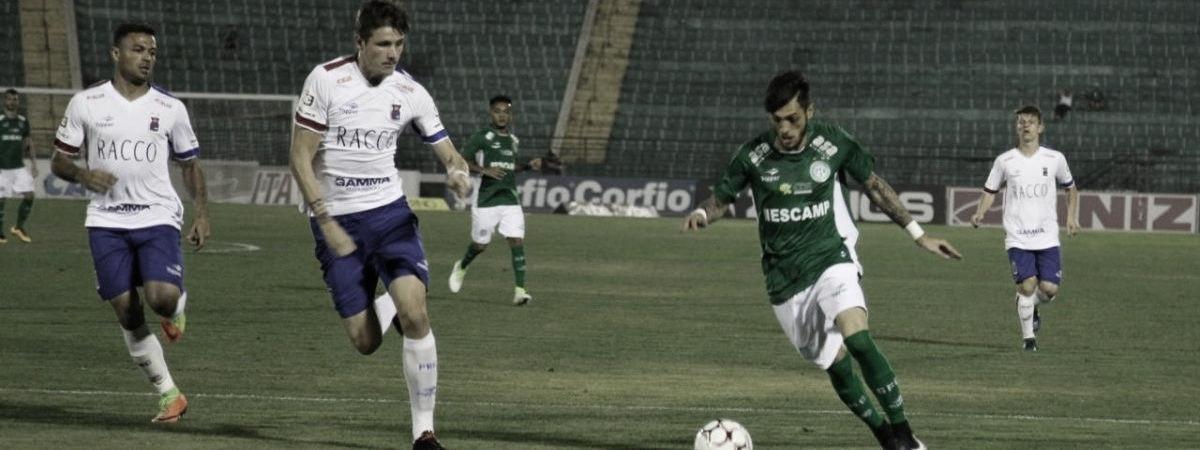 De olho no G-4, Paraná encara Guarani em Curitiba pela Série B