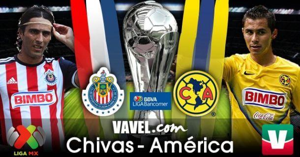 Resultado Chivas - América en Liga MX 2014 (0-4)