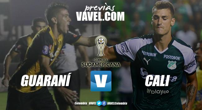 Previa Guaraní vs Deportivo Cali: partido reñido por la clasificación
