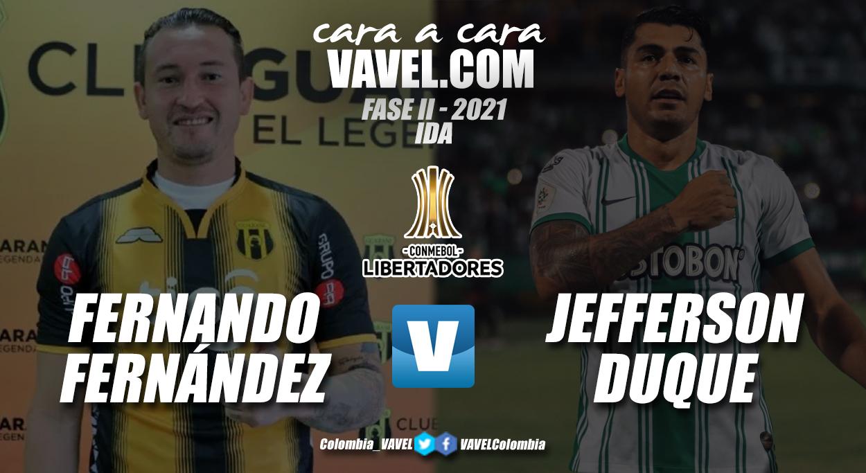 Cara a Cara: Fernando Fernández vs Jefferson Duque