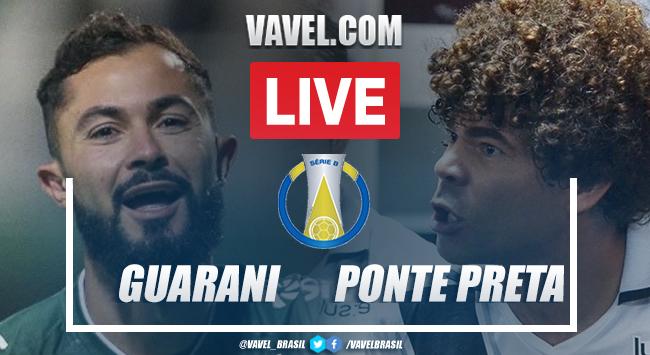 Gol e melhores momentos para Guarani x Ponte Preta pela Série B (1-0)