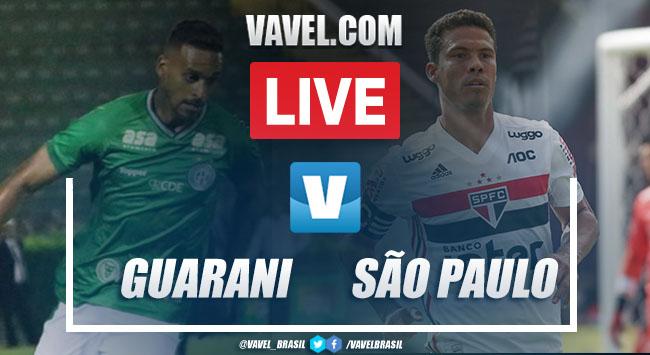 Gols e melhores momentos de Guarani e São Paulo (1-3)