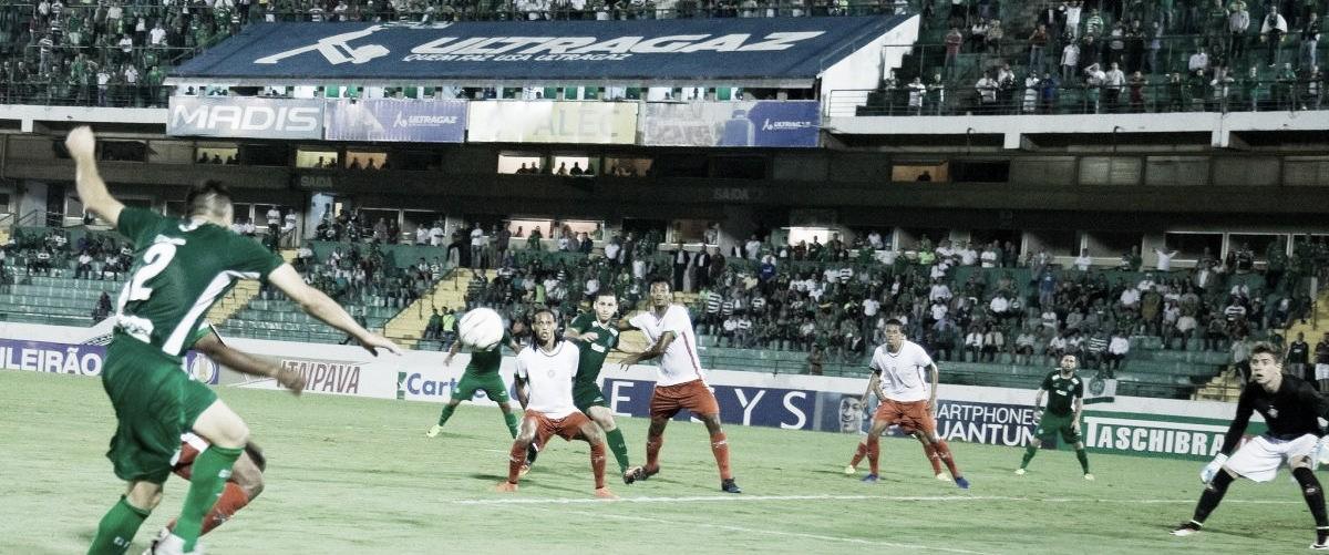Guarani sai na frente, mas cede empate para lanterna Boa Esporte