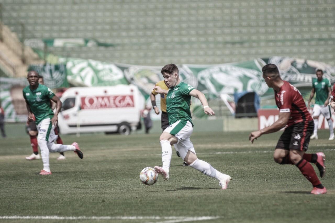 Sob sol forte, Guarani e Brasil de Pelotas não saem do empate em Campinas