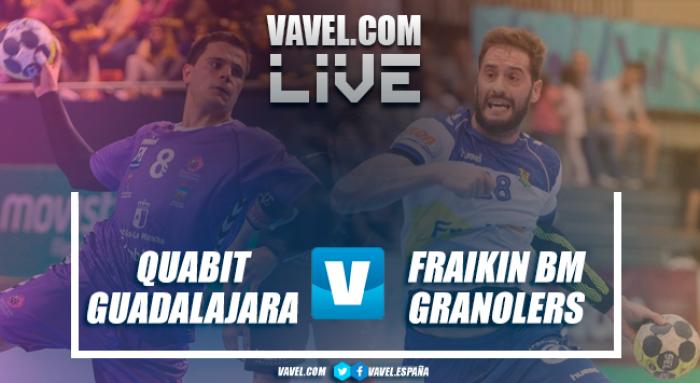 Quabit Guadalajara vs Fraikin BM Granollers en vivo y en directo online en Liga Loterías ASOBAL