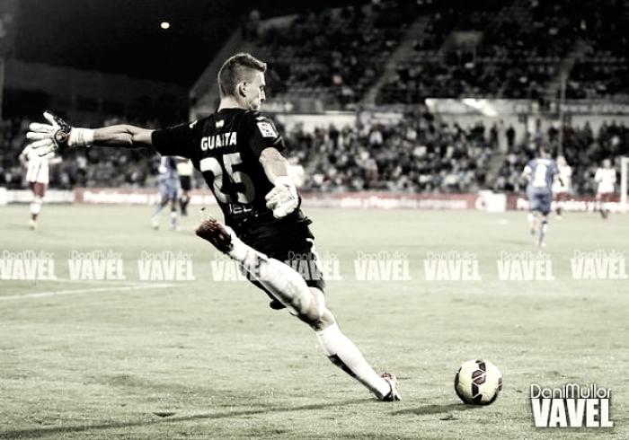 Guaita, el mejor contra el Valencia
