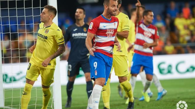 Imagen del último encuentro entre Villarreal CF y Granada CF en el Estadio de La Cerámica | Foto: LaLiga